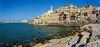 Jaffa mit Tel Aviv im Hintergrund