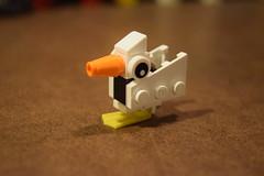 Duck (LegoLyman) Tags: duck moc lego legolyman animal mini small minimoc awesome aprilvacation