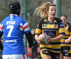 Calling The Shots (Feversham Media) Tags: yorkcityknightsladiesrlfc wakefieldtrinityladiesrlfc womenssuperleague rugbyleague york womensrugbyleague yorkstjohnuniversity