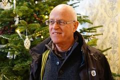 'O Tannenbaum' - explored (quietpurplehaze07) Tags: ray otherhalf christmas christmastree husband smile colour explored