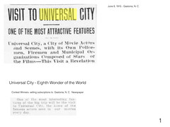 City of the Movies.001 (universalstonecutter) Tags: visittouniversalcity universalcity universalstudios newspapers