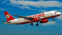 Kingfisher airbus A320 VT-KFX Bangalore (BLR/VOBL) (Aiel) Tags: kingfisher airbus a320 vtkfx bangalore bengaluru