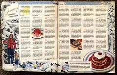 January Dessert Calendar, 1940 (ruthlesscrab) Tags: cookbook recipe vintage 1940 dessert