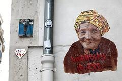 Diversity is Hope (just.Luc) Tags: urbanart streetart france frankrijk frankreich francia frança vrouw femme frau donna mujer woman portret portrait ritratto retrato porträt face gezicht visage gesicht parijs parigi paris îledefrance