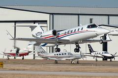 Learjet 31A (zfwaviation) Tags: kads ads addisonairport texas airplane plane aircraft aviation spotting addison airport lj31 lear 31 n221ej learjet sky cockpit jet window