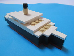 SS Nomadic (Cormac2000) Tags: ss nomadic 1911 rms olympic titanic lego white star line belfast