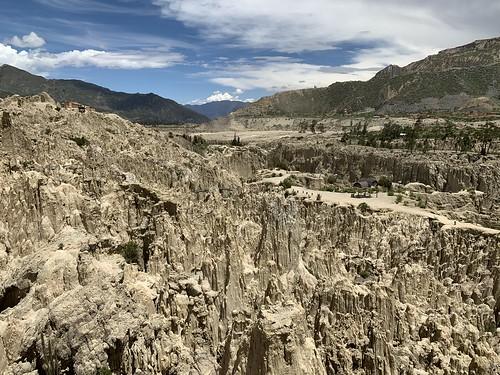 The Moon Valley (Valle de la Luna), La Paz, Bolivia.