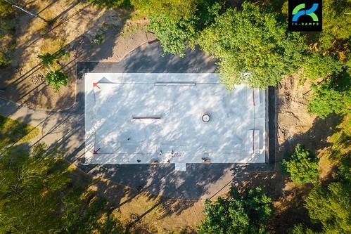 Concrete skatepark in Ivanteevka, Moscow area | Бетонный скейт парк в Ивантеевке, Московская область ©  fkramps