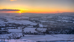 Sunrise over Chinley