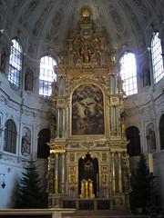 Kościół św. Michała (magro_kr) Tags: monachium munich münchen munchen muenchen niemcy germany deutschland bawaria bavaria bayern kościół kosciol świątynia swiatynia architektura ołtarz oltarz church temple architecture altar
