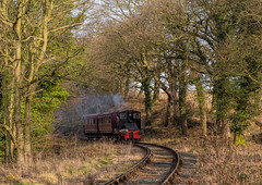 Tanfield Railway 17-2-2019 (KS Railway Gallery) Tags: tanfield railway freight february uk steam north sunderland day armstrong whitworth diesel engine curve