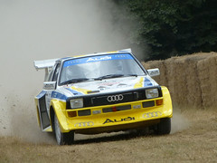 Audi Quattro S1 E2 1986 P1410476mods (Andrew Wright2009) Tags: goodwood festival speed sussex england uk historic heritage vehicle classic cars automobiles audi quattro s1 e2 1986