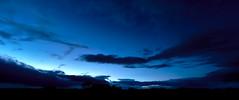 Ring of peace (LonánWL) Tags: sky cloud blue bluehour night landscape trees outdoor ciel nuages nuage bleu heurebleue nuit paysage exterieur arbres sunset coucherdesoleil