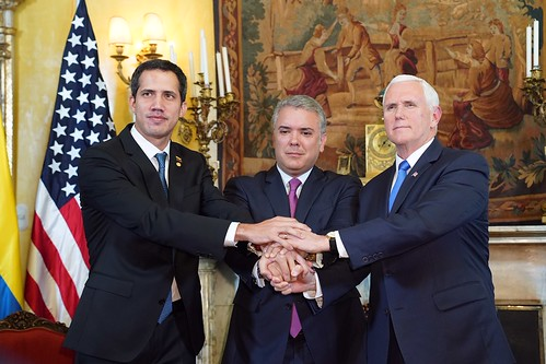Vice President Mike Pence Travels to Colombia