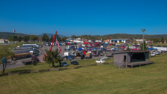 The main lot (NoVa Truck & Transport Photos) Tags: truck big rig 18 wheeler 2017 large car mag southern classic ta lexington va