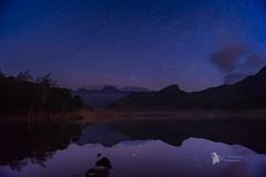 blea tarn starlight (Lumen01) Tags: water night nightscape stars reflection lakedistrict bleatarn cumbria nationaltrust nikon d800 on1 on1raw