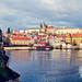 Castillo de Praga desde el Puente de Carlos V