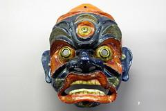 CANNES - MUSEO DE LA CASTRE - MASCARA (mflinera) Tags: cannes costa azul francia museo de la castre mascara arte