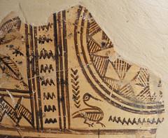 Argive Late Geometric monumental globular pyxis (detail 1) (diffendale) Tags: 8thcbce mid8thcbce late8thcbce 2ndhalf8thcbce 3rdquarter8thcbce 730sbce 720sbce 710sbce lategeometric geometric argivelategeometric pyxis globularpyxis monumental ironage pleiades:findspot=570106 argos άργοσ ἄργοσ argo аргос آرغوس argive greece ελλάδα grecia griechenland grèce греция yunanistan greek greco grecque اليونان ελληνικόσ bird waterbird pottery ceramic keramik κεραμικά céramique seramik керамика çömlekçilik керамику сосуд فخار pot vase vessel fictile ceramica fittile