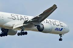 "JA731A All Nippon Airways Boeing 777-300  ""Star Alliance"" (czerwonyr) Tags: ja731a all nippon airways boeing 777300 staralliance frankfurt fra eddf"