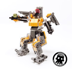 5-Solo Action (captainmutant) Tags: afol lego legospace legography photography sciencefiction scifi brickography toy overwatch blizzard