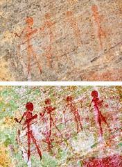 8967 - EKUTA (HerryB) Tags: 2013 southafrica southwest afrique afrika africa namibia südwest sonyalpha77 slr heribertbechen tamron alpha bechen fotos photos photography sony herryb rockart rockpaintings peintres rupestres petroglyph san zeichnungen felszeichnungen höhlenmalerei paintings bushmen buschmänner dstretch harman jon jonharman enhance falschfarben restauration digitalenhanced enhancement verwitterung granit granite enhanced ekuta abri halbhöhle überhang aiaiba hinterholzer erongo erongogebirge