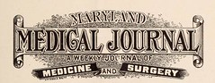 This image is taken from Maryland Medical Journal, 38, (1897-1898) (Medical Heritage Library, Inc.) Tags: medicine periodicals maryland history 19th century collegeofphysiciansofphiladelphia statemedicalsocietyjournals medicalheritagelibrary americana date1898 idmarylandmedicalj3818medi
