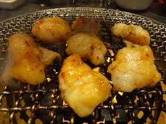 Wagyu Beef Fatty Intestine @Yakiniku-Daigo, Tokyo (Phreddie) Tags: wagyu beef meat yakiniku bbq japanese korean food delicious restaurant tokyo japan happy dinner