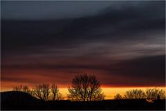 Todays Sunset . (:: Blende 22 ::) Tags: germany german deutschland thuringia thüringen eichsfeld landkreis eic heilbadheiligenstadt heiligenstadt sunset sonnenstrahlen sonnenuntergang sonne sun clouds cloudy sky himmel licht light australiaaustralienurbanvictoriamelbourneoldnewcontrastscanon eos 5d mark australia australien urban victoria melbourne old new contrasts canoneos5dmarkiv ef2470f28liiusm