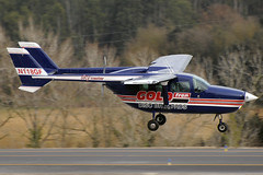 Gold Fren Cessna F337G N118GF GRO 26/02/2019 (jordi757) Tags: airplanes avions nikon d300 gro lege girona costabrava cessna f337g skymaster n118gf