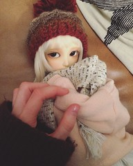 Blue (KarenBJD) Tags: bjd ball jointed doll abjd delf soony cp