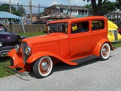 1932 Ford Tudor (splattergraphics) Tags: 1932 ford tudor hotrod customcar carshow nsra streetrodnationalseast yorkexpocenter yorkpa