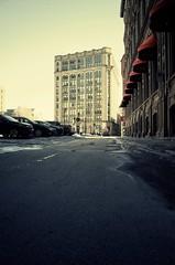 La ville est endormie... (woltarise) Tags: gr ricoh montréal hiver froid soleil couleurs vieuxmontreal patrimoine buildings