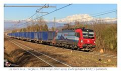 "Br 193 462 ""Gallarate"" - Vergiate (CC72080) Tags: vectron br193 siemens sbb ffs cff cargo treno zug train güterzug marchandise locomotive lokomotive locomotiva merce merci vergiate"