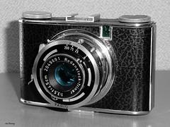 Ising_Puck_1948_bw-farb_tx_P1340472 (said.bustany) Tags: bruchköbel hessen kamera camera 2019 märz 1947 rollfilm 127 ising puck public