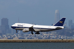 British Airways 747 (G-BYGC) (photo101) Tags: sfo boeing boac retro