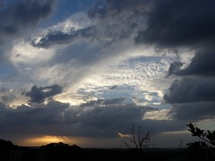 More Stormy skies (YAZMDG (16,000 images)) Tags: stormy skies cloudscapes sunset sundown cloudformations pantonhill victoria australia australianlandscapes