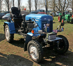 Homebuilt Tractor (Schwanzus_Longus) Tags: german germany stasfurt old classic vintage tractor farm farming mechine vehicle homebuilt self made