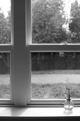 Afternoon (Photo Alan) Tags: vancouver canada blackwhite blackandwhite bw monochrome afternoon lights backlight desk window windows stilllife