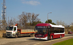Lothian 5 (SRB Photography Edinburgh) Tags: lothian buses bus edinburgh ukbus transport scotland lrt volvo 7900 hybrid