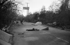 (Josh Sinn) Tags: joshsinn baltimore maryland md contaxt2 35mm film bw blackandwhite kodaktrix400 zikafarm diy skate