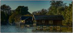 badehäuser (fotokunst_kunstfoto) Tags: bad badehaus badehäuser fischerhaus fischer ammersee stegen