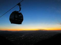 Cableway (richardmcmarquez) Tags: cableway sunset city sky destination caracas venezuela beauty cielo puesta de sol ciudad