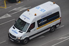 Ambulàncies Vitam (bleulights) Tags: ambulàncies vitam vs10 mercedes benz sprinter ambulància ambulancia ambulanza ambulance ambulanz rettungswagen emergències mèdiques medical emergencies emergencias médicas urgences médicales transport col·lectiu adaptat adapted transporte colectivo adaptado