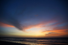 Sunset at Jeri 2 (peter_a_hopwood) Tags: jeri jericoacoara sun sunset sea sand october 2018 sony a99 brazil
