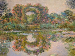 """Floweing Arches, Giverny"" (1913), Claude Monet (Joey Hinton) Tags: phoenix art museum pixel2 google android smartphone cellphone cameraphone phone arizona"