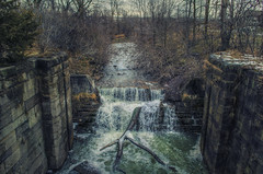 The Old Canal (Paul B0udreau) Tags: nikkor1855mm photoshop canada ontario paulboudreauphotography niagara d5100 nikon nikond5100 raw layer photomatix tonemapping texture oldwellandcanal stcatharines water greatphotographers