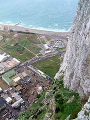 View From The Rock 2004 (Marc Sayce's Old Digital Photos) Tags: upper rock gibraltar autumn november 2004 2003 2002 2001 2000