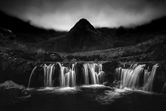 (stefanblombergphotography.com) Tags: blackandwhite clouds dark hill hillside landscape light mono mountain mountainrange nature outdoor sky stefanblombergphotography stream water waterfall white black bw cloud monochrome wwwstefanblombergphotographycom