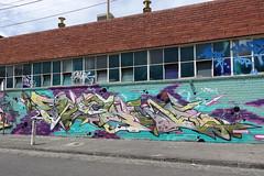 sirum venom (Luna Park) Tags: melbourne vic australia graffiti production mural lunapark sirum venom